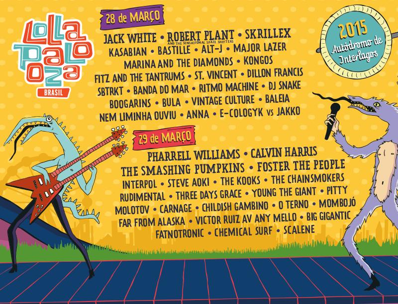 line up 2015