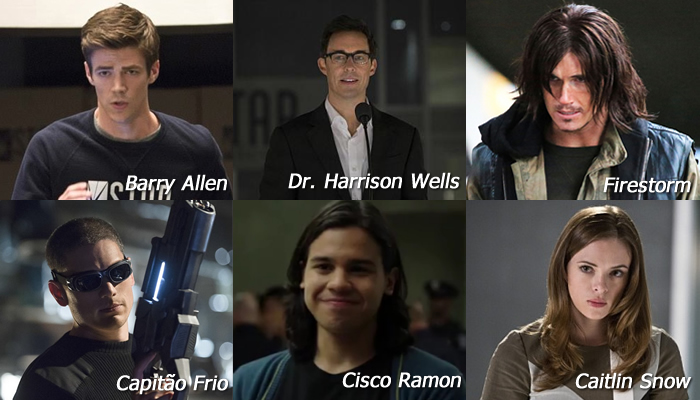 The Flash Personagens