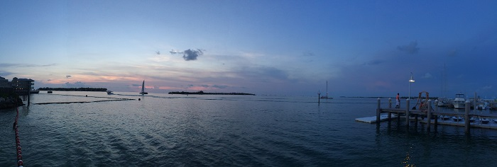Por do Sol, Key West.