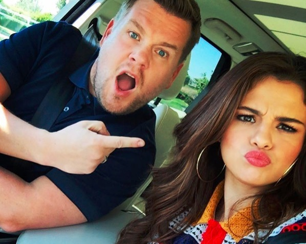 selenagomez-jamescorden-carpool