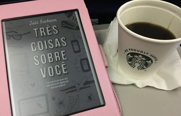ler no avião