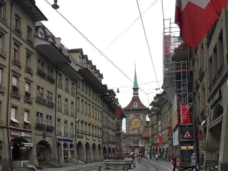 centro histórico de Berna, Suíça