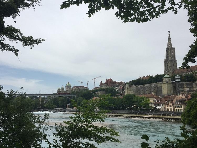 rio Aare, Berna, Suíça