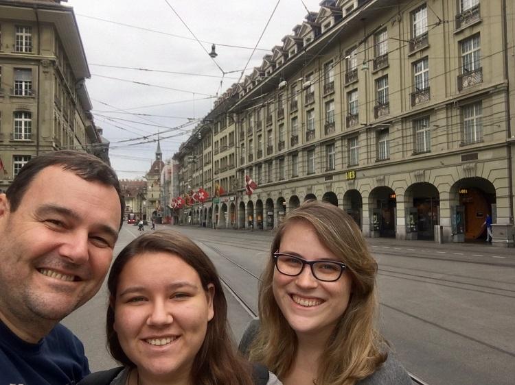 as ruas de Berna
