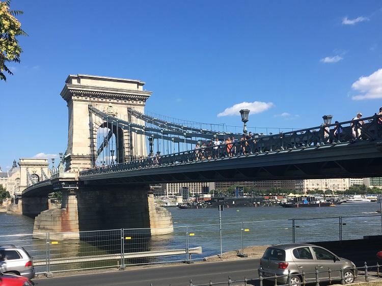 Budapeste - ponte das correntes