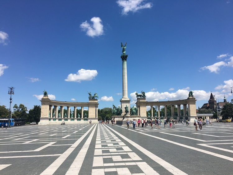Budapeste praça dos heróis