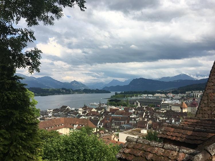 vista muralha, Lucerna