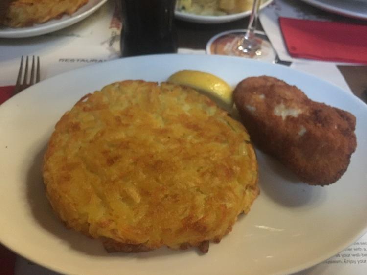 schnitzel e rösti