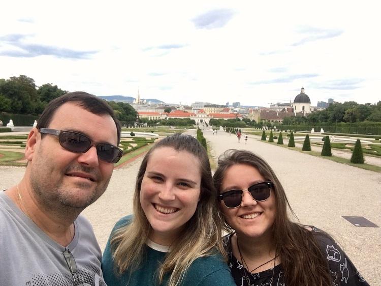 Viena - jardins de Belvedere